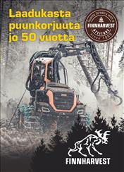 FinnHarvest-esitteen kansilehti